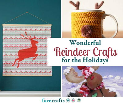 Wonderful Reindeer Crafts