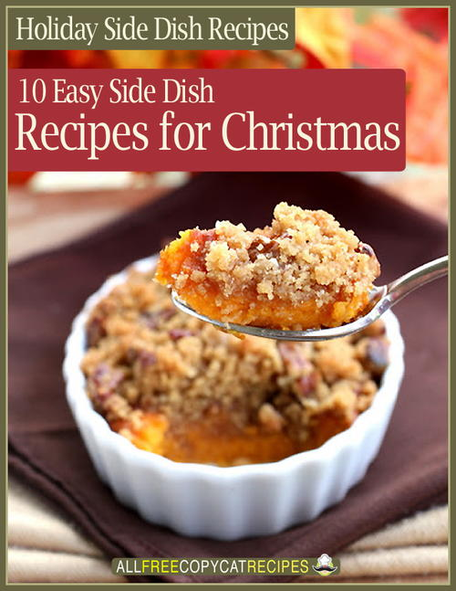 Holiday Side Dish Recipes eBook