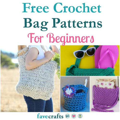 18 Free Crochet Bag Patterns For Beginners Favecrafts