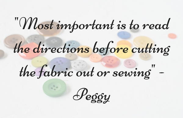 Fabric and Sewing Pattern Tips