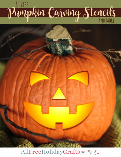 Free Pumpkin Carving Stencils eBook