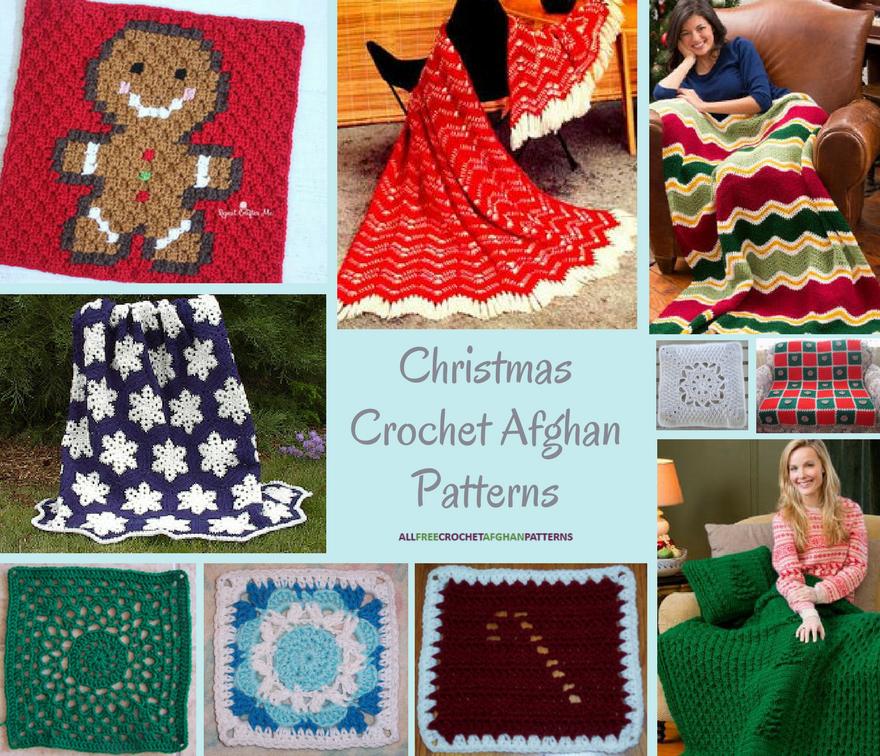 187 Christmas Crochet Afghan Patterns Allfreecrochetafghanpatterns