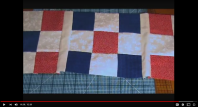 YouTube Quilting Videos: 10 Table Runner Tutorials | FaveQuilts.com : quilting videos site youtube - Adamdwight.com