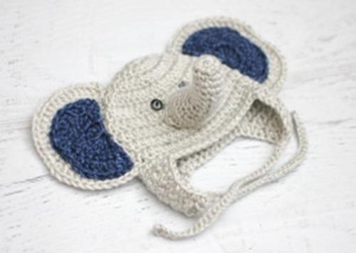 Baby Elephant Crochet Hat Allfreecrochet