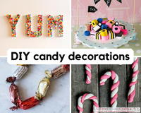 20 Sweet DIY Candy Decorations
