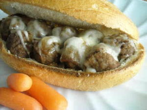 Bavarian Meatball Sandwich Recipe