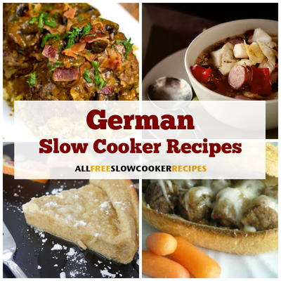 16 German Slow Cooker Recipes