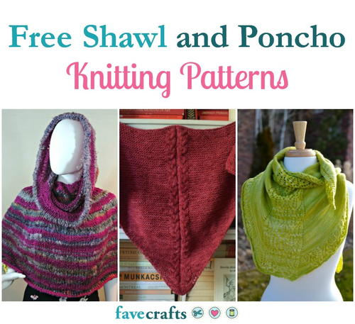 23 Free Poncho Knitting Patterns Favecrafts
