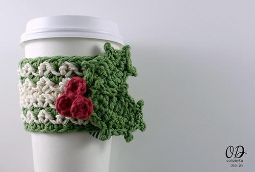 Festive Holiday Cup Cozy