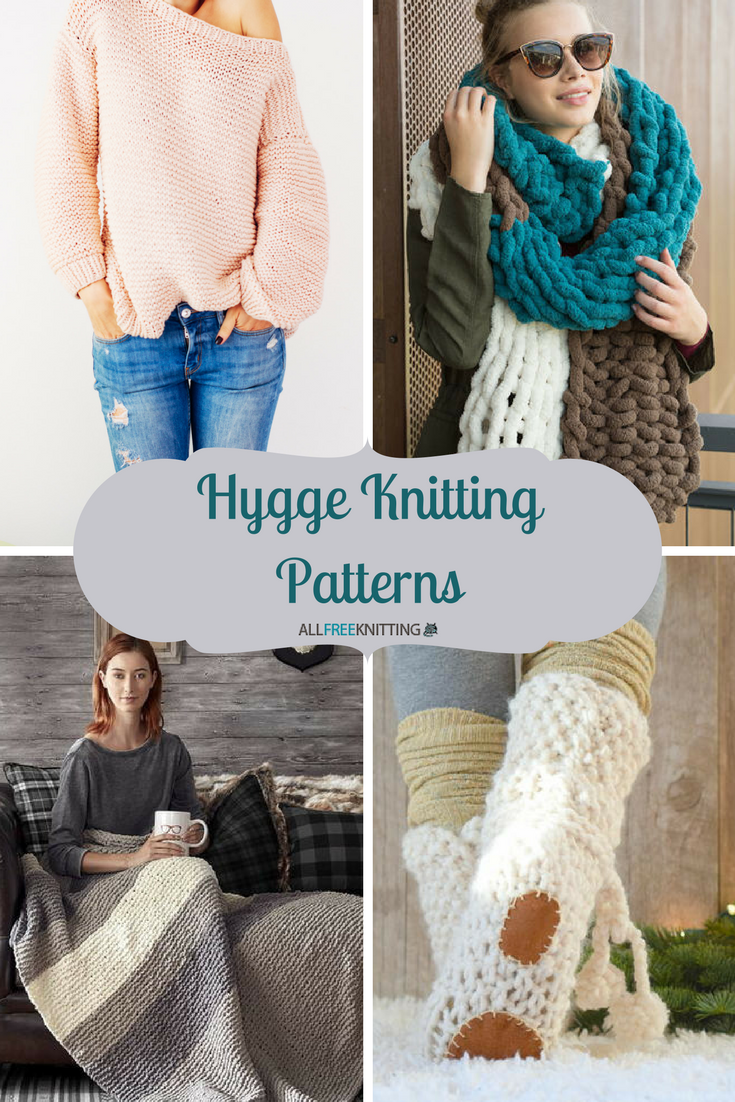 What is Hygge? 24 Hygge Knitting Patterns | AllFreeKnitting.com