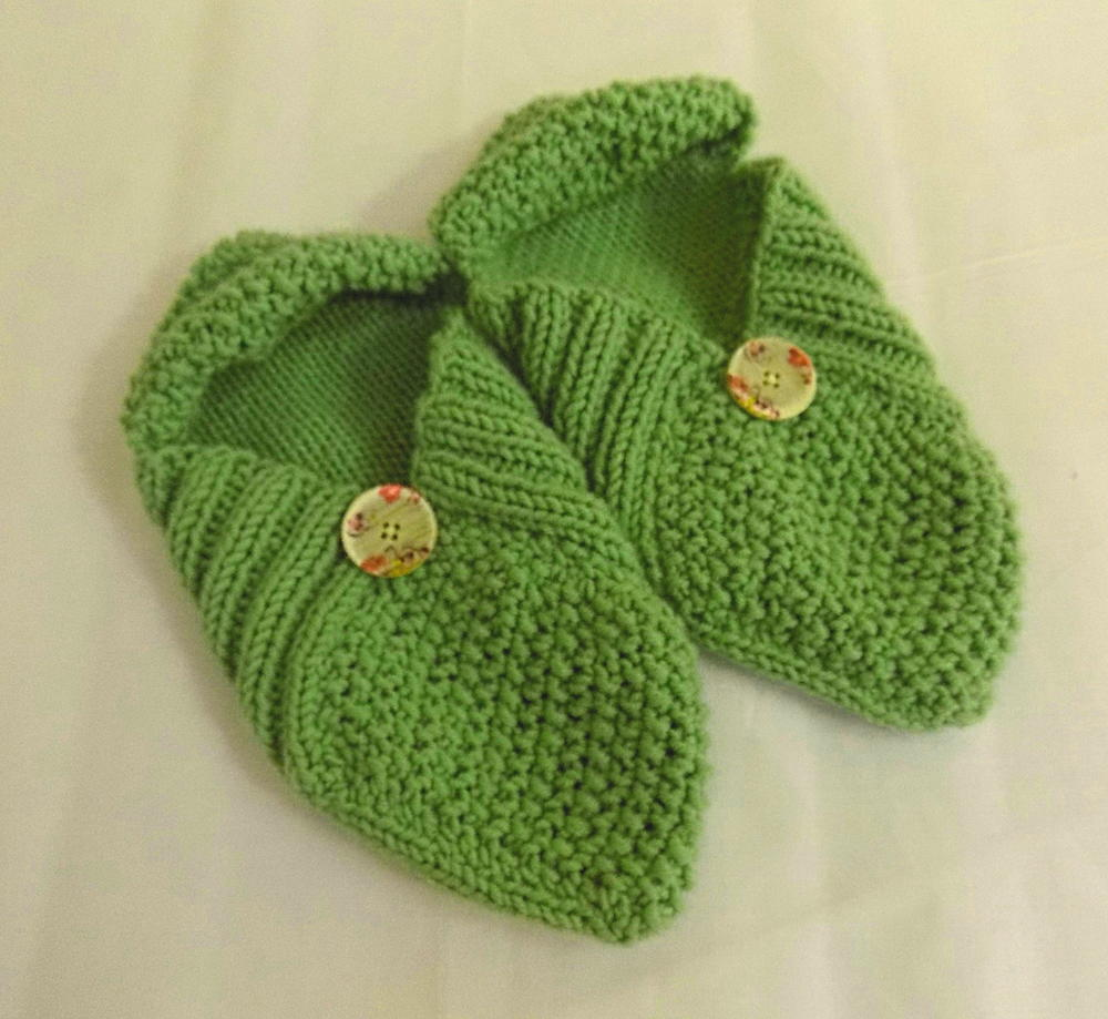 Knitted Slippers Pattern With Two Needles New Design Inspiration