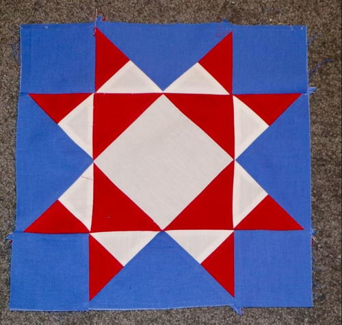 Making a Square for a Group Quilt Project