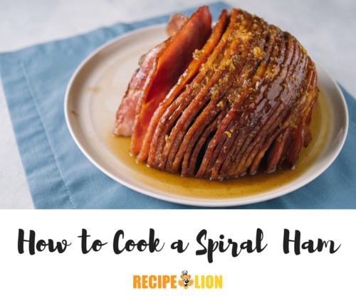 How To Cook Spiral Ham Recipelion