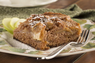 Easy Apple Cake Mrfood Com