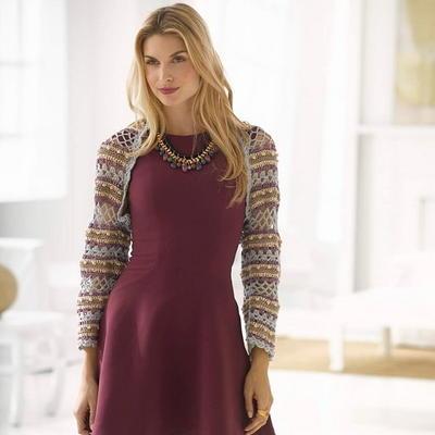 Shrugs for Dresses Patterns