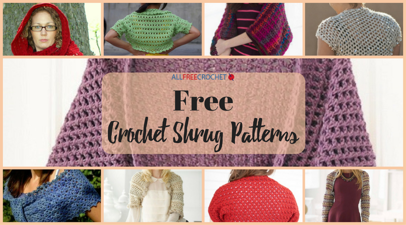 31 Free Crochet Shrug Patterns Allfreecrochet Com Dream Wedding
