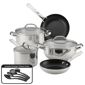 Farberware 12-Piece Buena Cocina Stainless Steel Set Giveaway