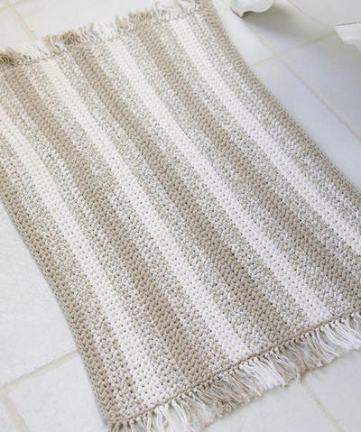 17 Free Crochet Patterns for Rugs   FaveCrafts.com
