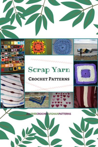 14 Scrap Yarn Crochet Patterns Allfreecrochetafghanpatterns