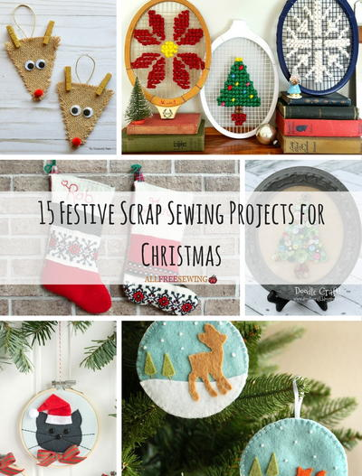 350 Free Christmas Sewing Patterns A Complete Christmas Sewing