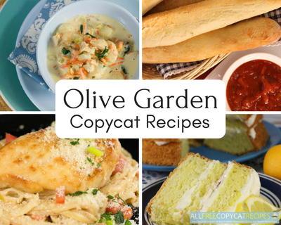 34 olive garden copycat recipes allfreecopycatrecipescom