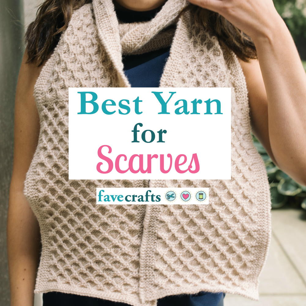 25 Crochet Scarf Patterns | FaveCrafts.com