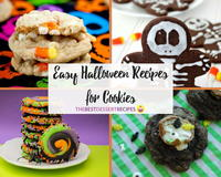 14 Easy Halloween Recipes for Cookies