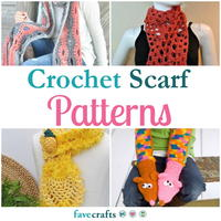 25 Crochet Scarf Patterns