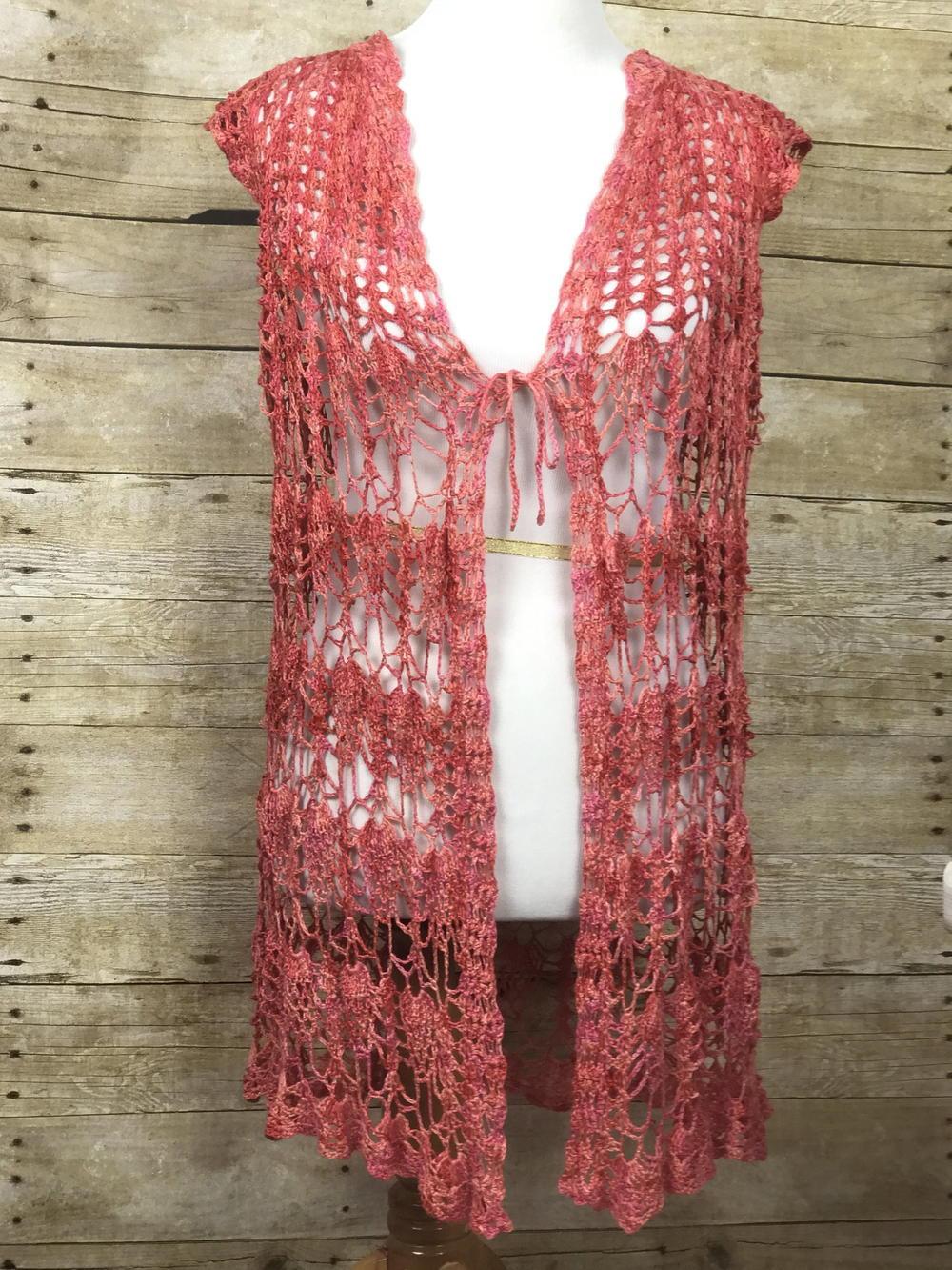48 Crochet Vest Patterns | AllFreeCrochet.com