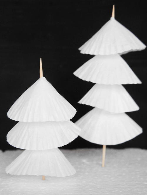 paper christmas tree diy decorations