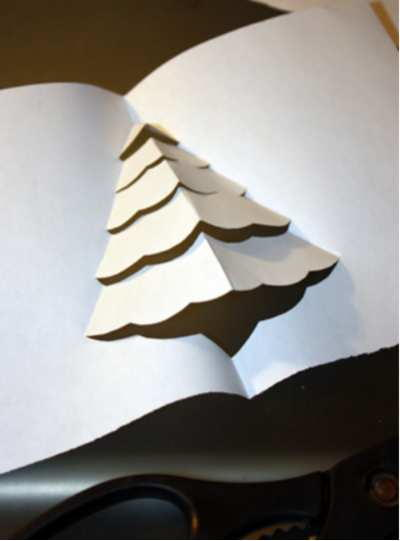Pop-Up Greeting Card for Christmas