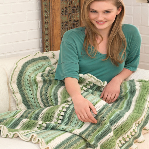 Country Fields Throw