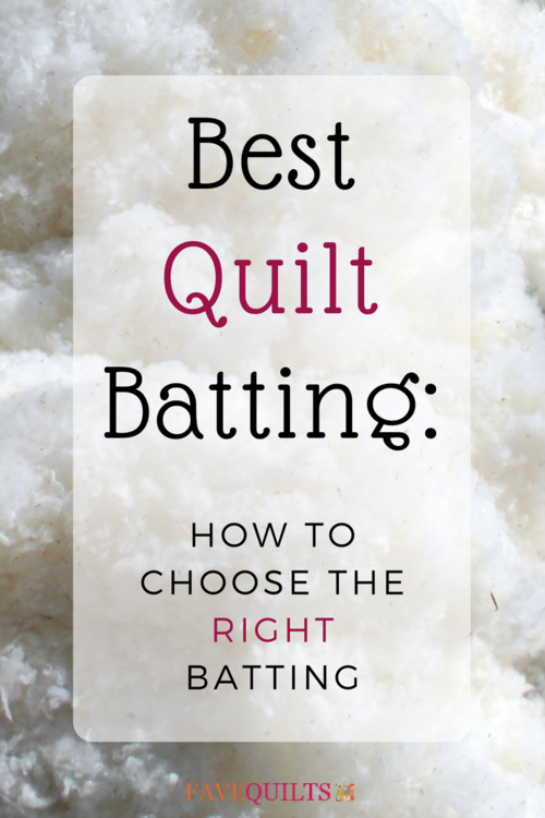 Best Quilt Batting: How to Choose the Right Batting | FaveQuilts.com : best batting for machine quilting - Adamdwight.com