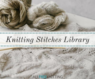 Knitting Stitches Library Allfreeknitting