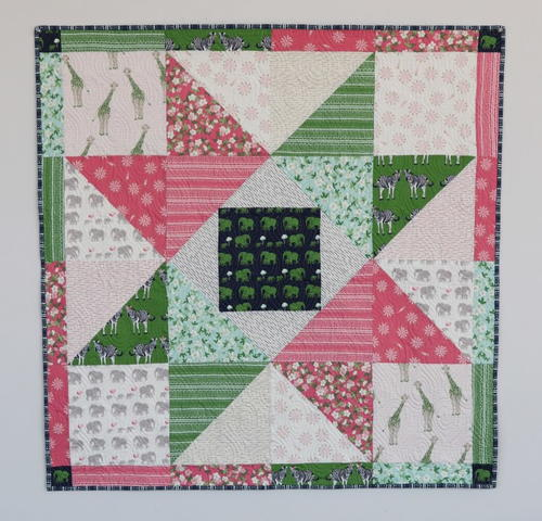 Patchwork Star Baby Quilt Tutorial