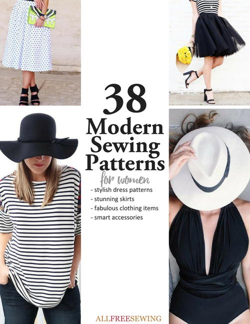 60 Trendy Modern Sewing Patterns For Women AllFreeSewing Fascinating Sewing Patterns Com