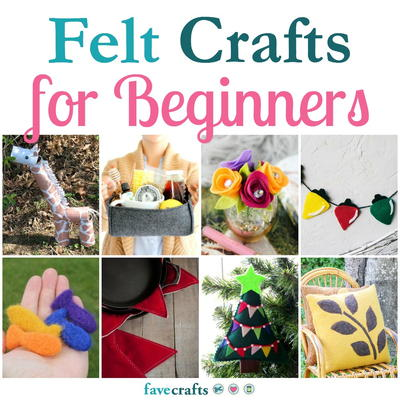 Felt Crafts For Beginners