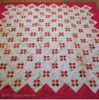Posing English Posies Quilt Pattern