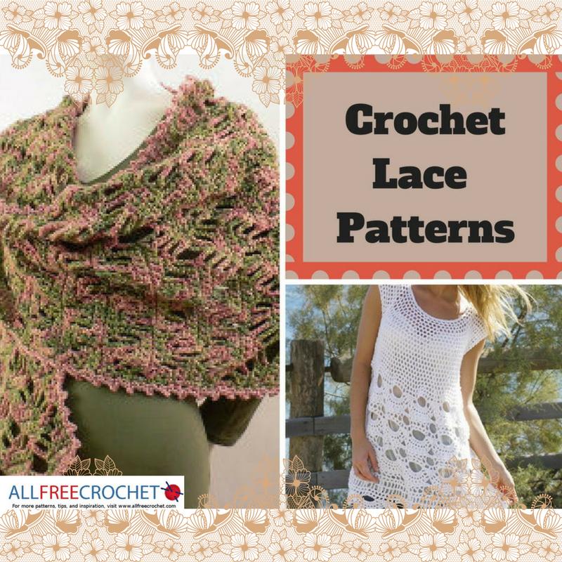 34 Crochet Lace Patterns | AllFreeCrochet.com
