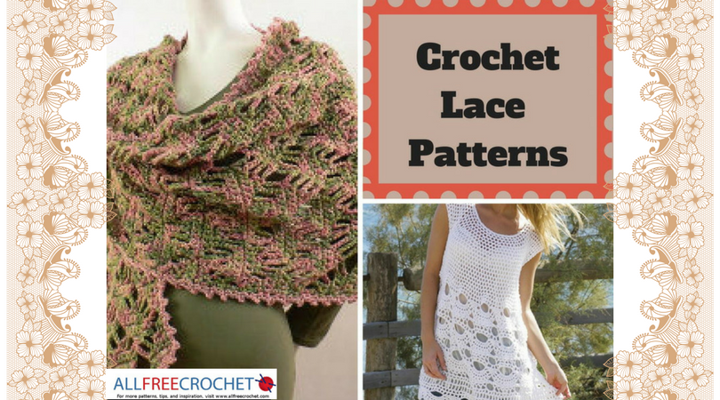 34 Crochet Lace Patterns Allfreecrochet