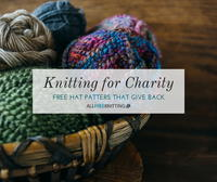 Knitting for Charity: 30 Free Hat Patterns