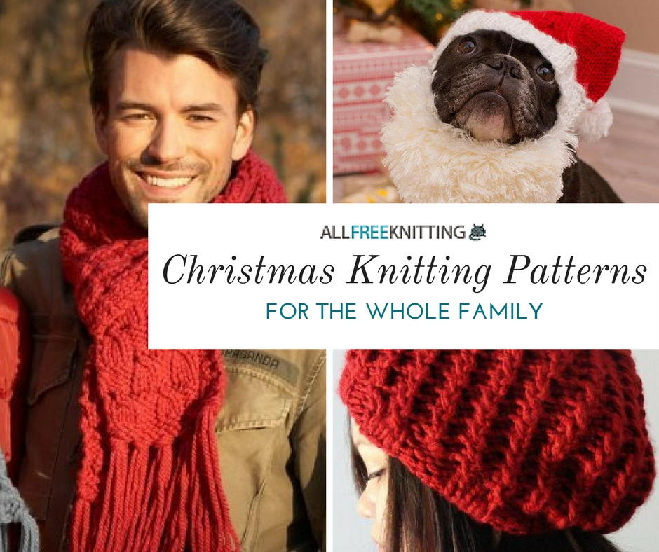 25 Christmas Knitting Patterns For Everyone On Your List