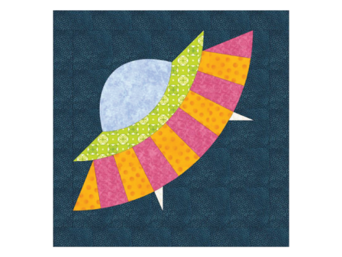 Little UFO Quilt Block
