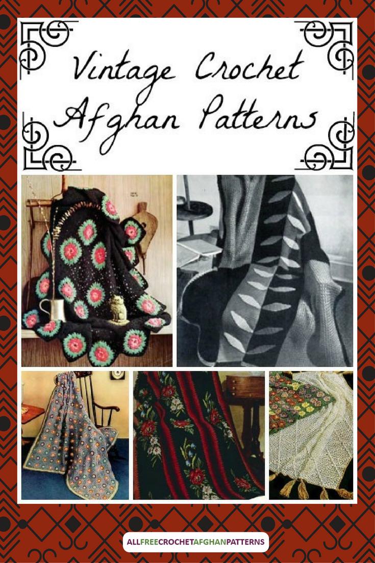 30 Vintage Crochet Afghan Patterns Allfreecrochetafghanpatterns