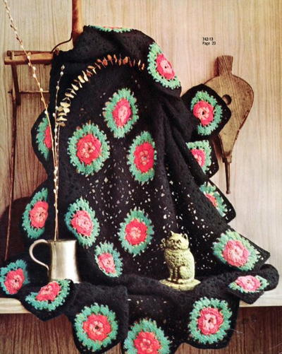 30 Vintage Crochet Afghan Patterns Allfreecrochetafghanpatterns
