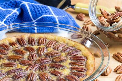 Crustless pecan pie everydaydiabeticrecipes crustless pecan pie forumfinder Choice Image