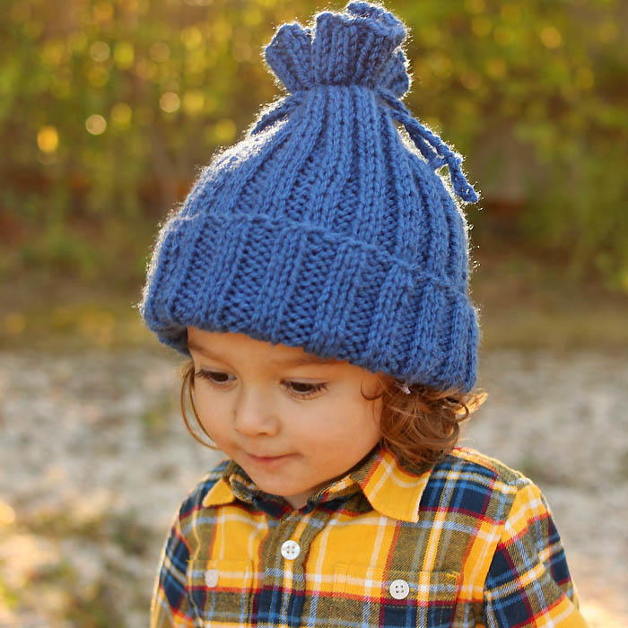 No-Brainer Knit Hat Pattern | AllFreeKnitting.com