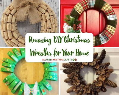 25 Amazing DIY Christmas Wreaths for Your Home