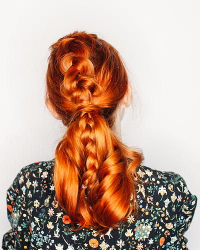 Top Braided Ponytail