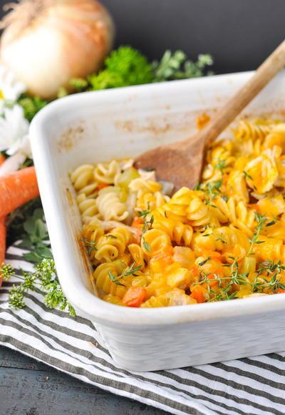 Dump And Bake Chicken Noodle Casserole Recipelion